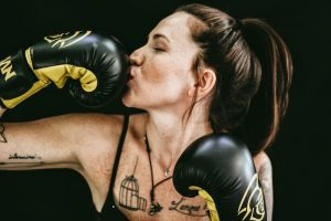 Woman boxer, women in leadership